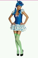 Women Sexy Blueberry Muffin Costume sz XS