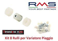 "5527 - KIT 8 Rulli + Semigusci ""RMS"" per Variatore PIAGGIO SI Mix 50 dal 1996"