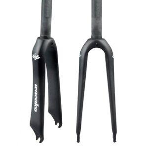 """Full Carbon Fiber Fork 14/16/18/20/22"""" Folding BMX Bike Rigid Front Fork C Brake"""