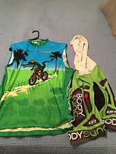 SWAMP SLEEVELESS JERSEY 4XL LG TEAM SPECIALIZED XL MTB ROAD CYCLING KIT