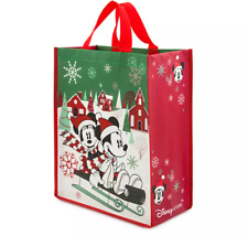 DISNEY CHRISTMAS PLASTIC REUSABLE BAG #disneychristmas #disney #disneyholidays