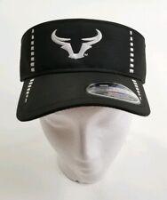 Chicago Bulls Cap America Golf Black White Performance Cap Visor Adjustable UV