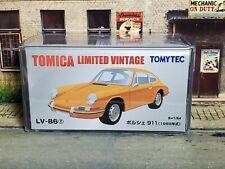 TOMYTEC LV-86f Porsche 911 (Yellow) TOMICA LIMITED VINTAGE ポルシェ911(黄色)