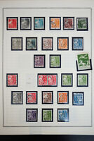 Denmark Notated Early Stamp Collection