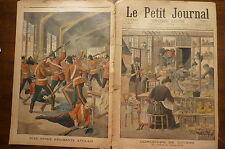 PETIT JOURNAL- 1901- N° 572 concours jouets / ballon recueilli / rixe anglais