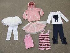 Just Fab Girls 3T Clothing Lot Skirt Leggings Jacket Pants Tulle Ruffles Lace