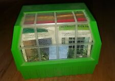 Vintage 1978 The Greenhouse Index & Content Cards Indoor Plant Library