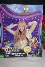 Hannah Montana CD Board Game Guitar Case New Music NEW