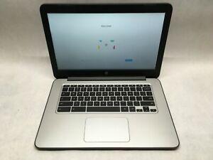 HP Chromebook 14 G4 Intel Celeron 4GB 16GB SSD WiFi HDMI Webcam AC Charger