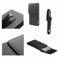 for LG Optimus L4X Case Metal Belt Clip Synthetic Leather Vertical Premium