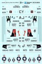 MICROSCALE Decalcomanie 1/72 Grumman EA-6B VAQ-133, VAQ-135 & vmaq - 2 # MS72033