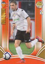 N°283 JOAQUIN SANCHEZ RODRIGUEZ # VALENCIA.CF CARD PANINI MEGA CRACKS LIGA 2010