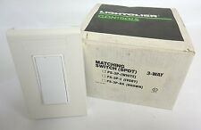 Lightolier Controls PS-3P Matching Switch (SPDT) 3-Way White