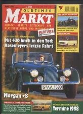 Oldtimer Markt 1/1998 Vincent Mercedes 319 Victoria Hanomag Lancia Alfa Romeo