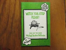 NOEL  BEYLE Signed  Book(WATCH YOUR STEP PLEASE! Cape Cod-1980 1st Edit Softback