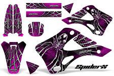 KAWASAKI KX125 KX250 99-02 GRAPHICS KIT CREATORX DECALS SPIDERX SXP