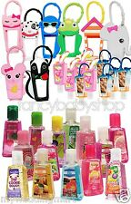 Bath & Body Works Lot of 30 Pocketbac Sanitizers,8 Character & 10 Plains Holders