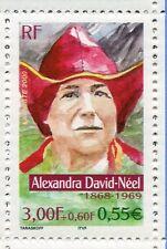 FRANCE - 2000 - timbre 3343, A. DAVID-NEEL, AVENTURIERS, CELEBRITE, neuf**