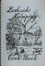 *LIME SPRINGS IA 1992 OUT-DOOR COOKING *CAMPERS COOK BOOK *LAKESIDE CAMPING