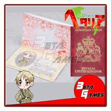 Hetalia Passport Cosplay Notepad UK United Kingdom England