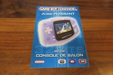 CATALOGUE NINTENDO  GAME BOY ADVANCE