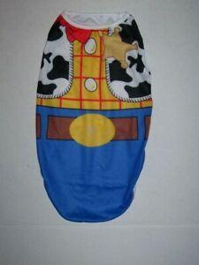 Toy Story Woody Dog Costume Shirt Size Large NEW