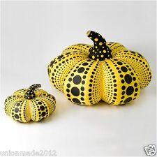 YAYOI KUSAMA Soft Sculpture Pumpkin Squash SET of 2 (Large + Small) NEW L, S F/S