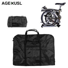 "Bike Carrier Bag Carry Transport Loading Bag Brompton Dahon12""-20"" Folding Bike"