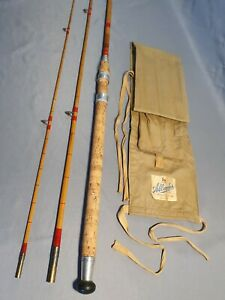 """Allcocks vintage fishing rod """"Super Wizard"""" + excellent condition"""