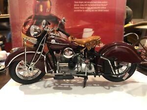 Franklin Mint 1942 Indian Model 442 Motorcycle 1:10