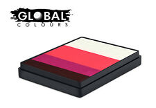 Global Rainbow Cakes 50g - NORWAY professional face & body paint