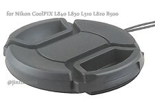 Lens cap Cover keeper 4 Nikon CoolPIX L840 L830 L310 L340 L820 L810 B500 camera
