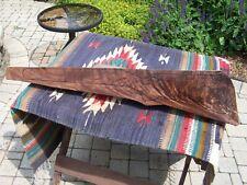 Fancy Feather Crotch Black Walnut Rifle Gunstock Blank