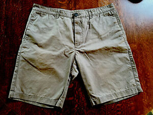 Search and State Field Shorts sz 32 waxed cotton gray