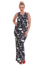 Goth Plus Size Sleeveless Dresses for Women