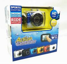 Action Camcorder HD 720P HS VGA 2.0 Touch Panel Sports Driving Ride Shooting