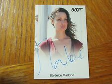 James Bond Archives 2016 SPECTRE Bernice Marlohe as Severine Autograph Card