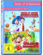 Wolkig mit Aussicht auf Fleischbällchen 1 & 2 - DVD - *NEU*