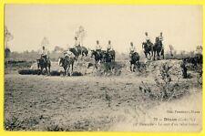 cpa Rare DINAN (Côtes d'Armor) 13e Régiment de HUSSARDS à Cheval TALUS BRETON