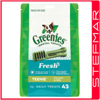 Greenies for Dogs Teenie Mint 340g 43pack