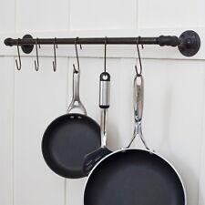 Black S Shaped Hooks Kitchen Closet Pans Pots Necklaces Hanging Storage 20 pcs
