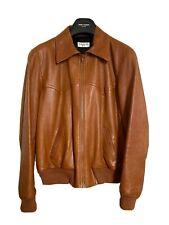 yves saint laurent leather jacket Size IT 52