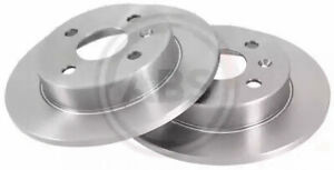 Rear Set 2x Brake Discss A.B.S. 16954 for Vauxhall/Chevrolet Astra/Meriva/Astra/