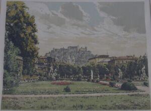 Ansicht Salzburg, Hans Figura 1898