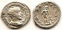 Imperio Romano-Gordiano III. Antoniano. 241-243 d. C. Roma EBC/XF. Plata 4,7 g.