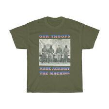 Rage Against The Machine Band T-shirt Vintage Rock Retro Cotton concert