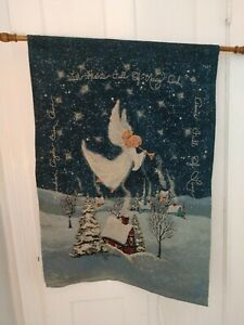 Christmas Tapestry With Lights