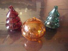 Tupperware Tupper Eleganzia Weihnachten Weihnachtsbaum Weihnachtskugel 3-teilig