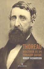 Thoreau. NUEVO. Nacional URGENTE/Internac. económico. BIOGRAFIAS