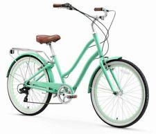 "Sixthreezero EVRYJourney 26"" Mint Green 7-Speed Hybrid Bike"